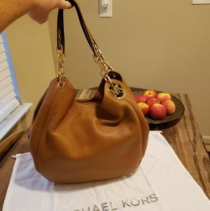 New Michael Kors leather purse